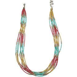 Bay Studio Colorblock Seed Bead Necklace