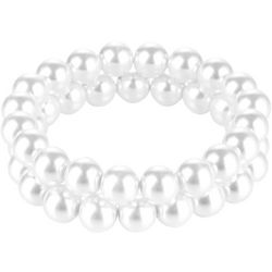 Jones New York 2 Row Pearl Stretch Bracelet Set
