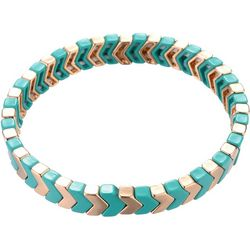 Nicole Miller New York Chevron Stretch Bracelet