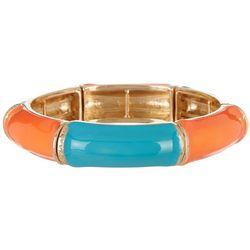 Nicole Miller New York Enamel Stretch Bracelet