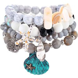 Bay Studio Sealife Multi Row Stretch Bracelets