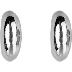 Jones New York Small C  CLip hoop Earring