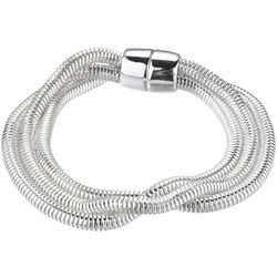 Jones New York Triple Row Snake Chain Bracelet