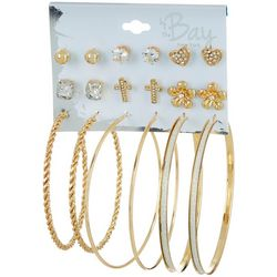 By The Bay New York 20-pc Fashion Earring Set