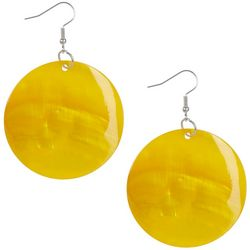 Bay Studio Large Shell Disc Earrings