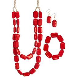 3-Pc. Beaded Necklace Set