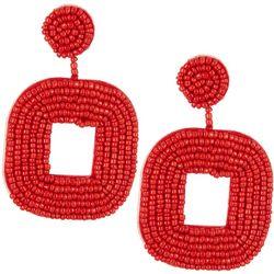 Bay Studio Square Seed Bead Earrings