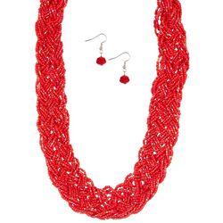 Bay Studio 2-Pc. Braided Necklace Set