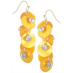 Bay Studio Shakey Sparkle Shell Earrings