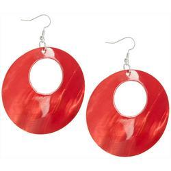 Large Shell Ring  Earrings