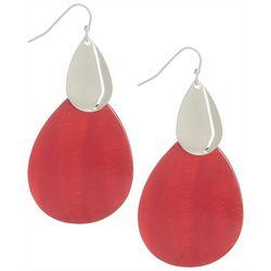 Bay Studio Layered Teardrop Shell Earrings