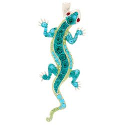 By Roman Pave Rhinestone Lizard Pendant