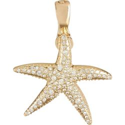 Wearable Art By Roman Rhinestones Starfish Pendant