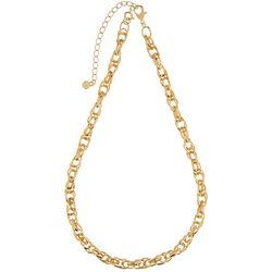 Wearable Art By Roman Double Oval Link Chain Necklace