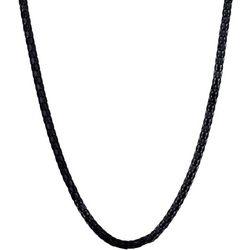 By Roman Black Lantern Chain Necklace