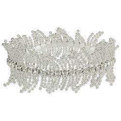 Roman Crystal Fringe Stretch Bracelet