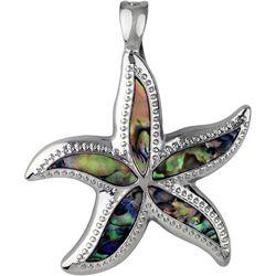 Wearable Art By Roman Abalone Starfish Pendant