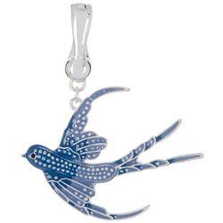 Wearable Art By Roman Blue Swallow Pendant