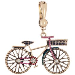 Wearable Art By Roman Bicycle Pendant