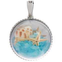 By Roman Starfish & Shell Pendant