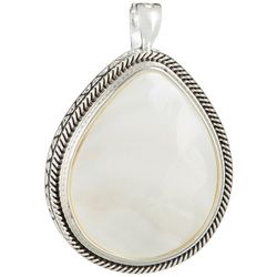 Wearable Art By Roman Oval Mother Of Pearl Pendant