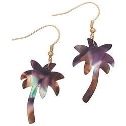 Elsie & Zoey Colorful Palms Earrings