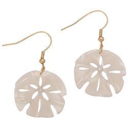 y Sand Dollar Earrings