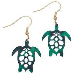 Elsie & Zoey Turtle Drop Earrings