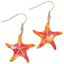 Elsie & Zoey Starfish Earrings