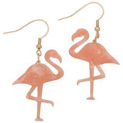 Elsie & Zoey Flamingo Drop Earrings