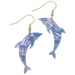 Elsie & Zoey Dolphin Drop Earrings