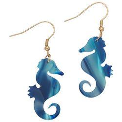 Elsie & Zoey Seahorse Drop Earrings