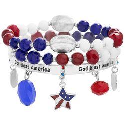 Bay Studio God Bless America Bracelet Set