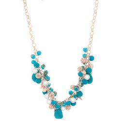 Bay Studio Coastal Seashell Charm Front Necklace