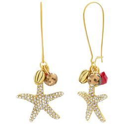 Bay Studio Holiday Coastal Starfish Earrings