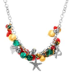 Bay Studio Holiday Sealife Shaky Charm Necklace
