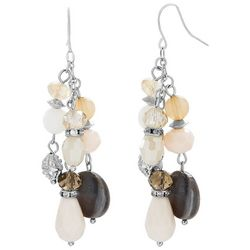 Bay Studio Coastal Sandy Glass Beaded Earrings