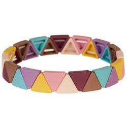 Bay Studio Multi Triangle Link Stretch Bracelet