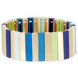 Bay Studio Multi Color Bar Stretch Bracelet