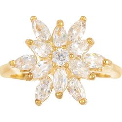 Bay Studio CZ Flower Ring
