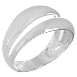 Bay Studio Silver Tone Wrap Look Ring