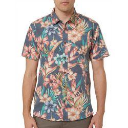 O'Neill Mens Blissful Button Up Shirt