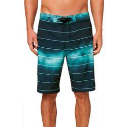O'Neill Mens Corban Ombre Stripe Boardshorts