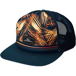 O'Neill Mens Tropical Leaf Snapback Hat