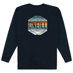 O'Neill Mens Sideshot Crew Neck Long Sleeve T-Shirt