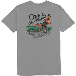 O'Neill Mens Wave Crusher Short Sleeve T-Shirt
