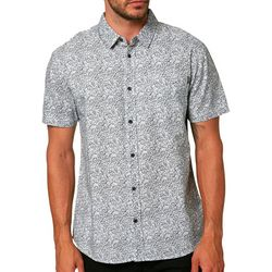 O'Neill Mens Humdinger Button Down Short Sleeve Shirt
