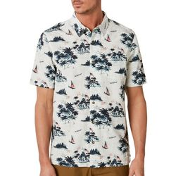 O'Neill Mens Summer Days Button Down Short Sleeve