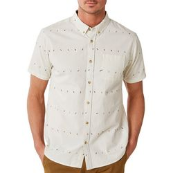 O'Neill Mens Boardroom Button Down Short Sleeve Shirt