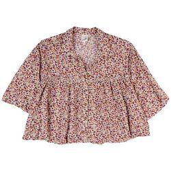 Belle Du Jour Juniors Flowy Shirt